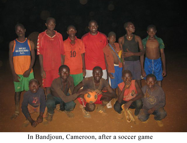 In-Bandjoun,-Cameroon,-after-a-soccer-game